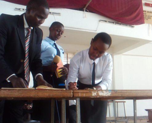 Councilors swearing katikamu sda ss